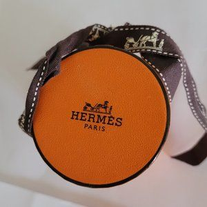 Pretty little rare Hermes box with ribbon